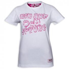 "DSV-Damen T-Shirt ""Bin auf dem Sprung"""