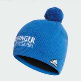 adidas DSV Erdinger Beanie mit Bommel blau