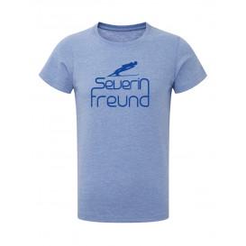 DSV-Herren T-Shirt Severin Freund - blue melange
