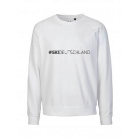 Unisex Sweater # Ski Deutschland weiß