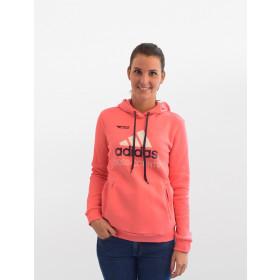 adidas Damen Hoodie Cross Country Pink Edition