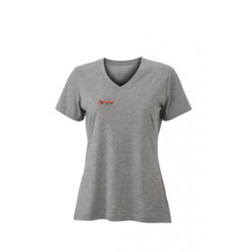 Damen T-Shirt Heather